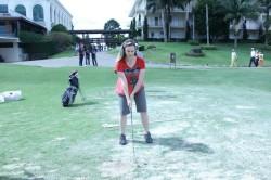 PAradise Renata Tabach jogando Golf