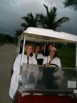 Paradise carrinho de Golf