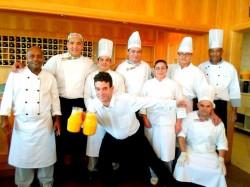Paradise equipe da cozinha
