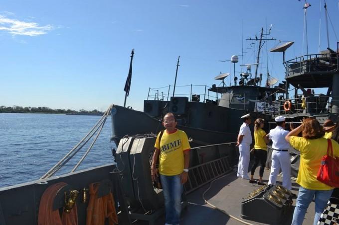 Visita nos navios