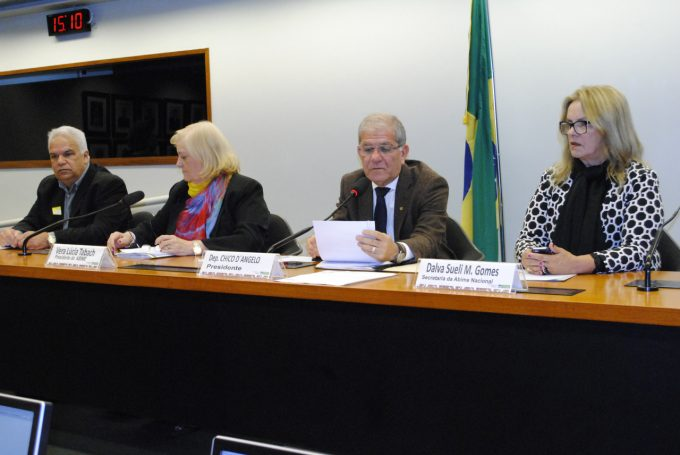 Brasilia Elias Tabach, Vera Tabach - Presidente da ABIME,Deputado Chico e Dalva Sueli
